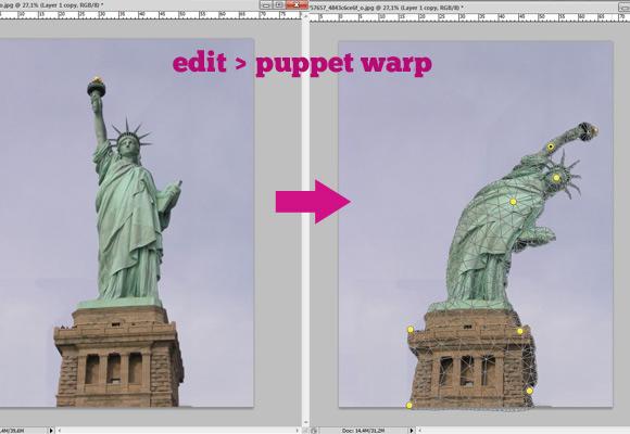 puppet-warp