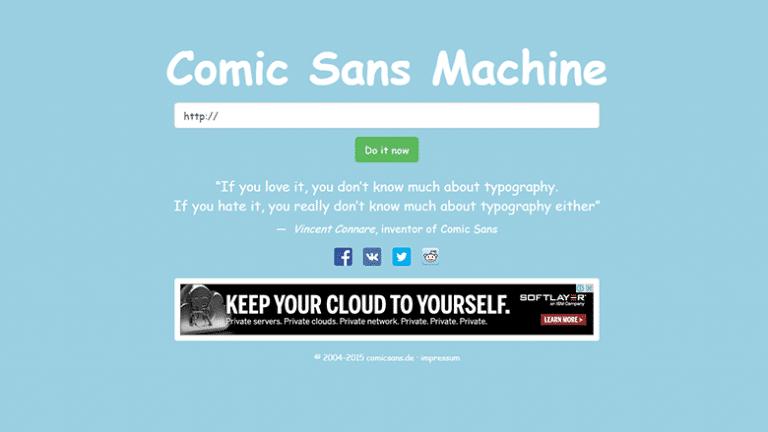 Comic Sans : bộ Font hầu hết mọi người đều ghét