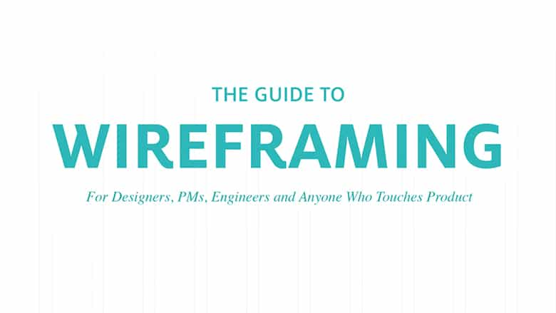 Ebooks – The Guide To Wireframing